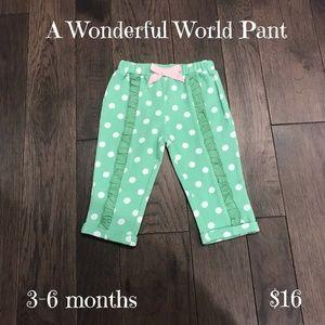 Matilda Jane Baby Pants, Size 3-6 months, NWT